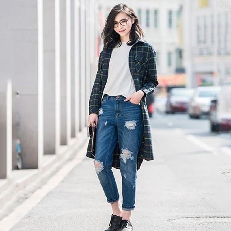 Áo thun trơn nữ