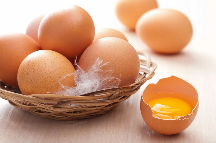 crom có nhiều trong lòng đỏ trứng gà