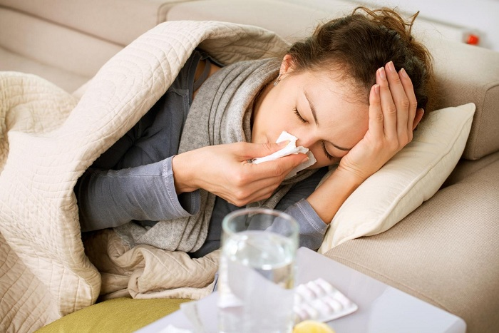 điều trị cảm cúm