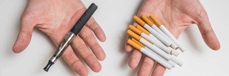 Nếu so với thuốc lá thông thường thì tác hại của thuốc lá điện tử không hề thua kém.