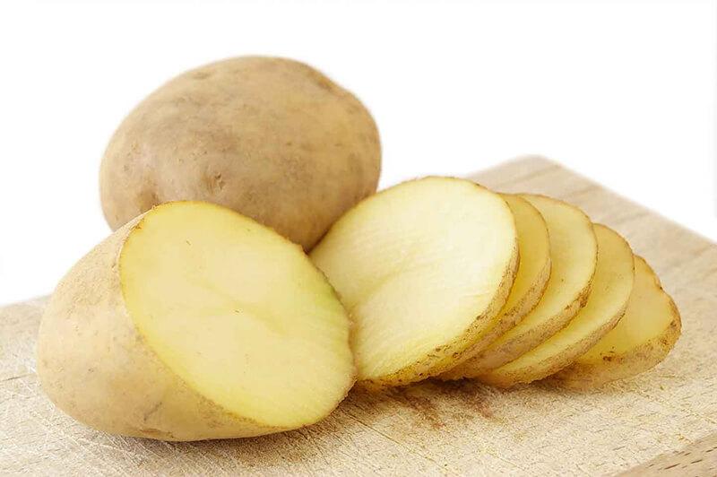 Khoai tây là nguyên liệu được chị em ưa chuộng