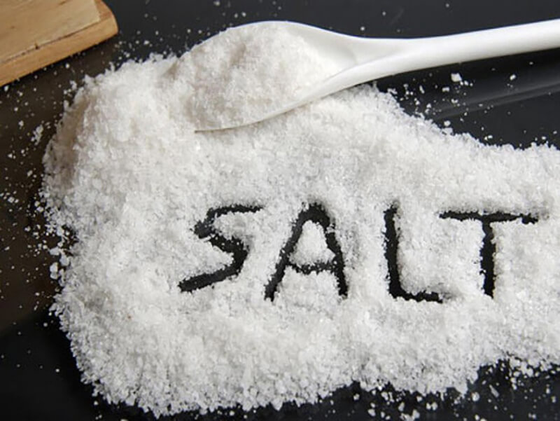 Muối có tính diệt khuẩn cao