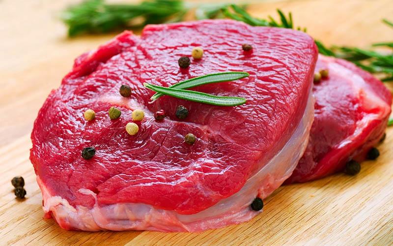 Thịt bòchứa rất nhiều calo