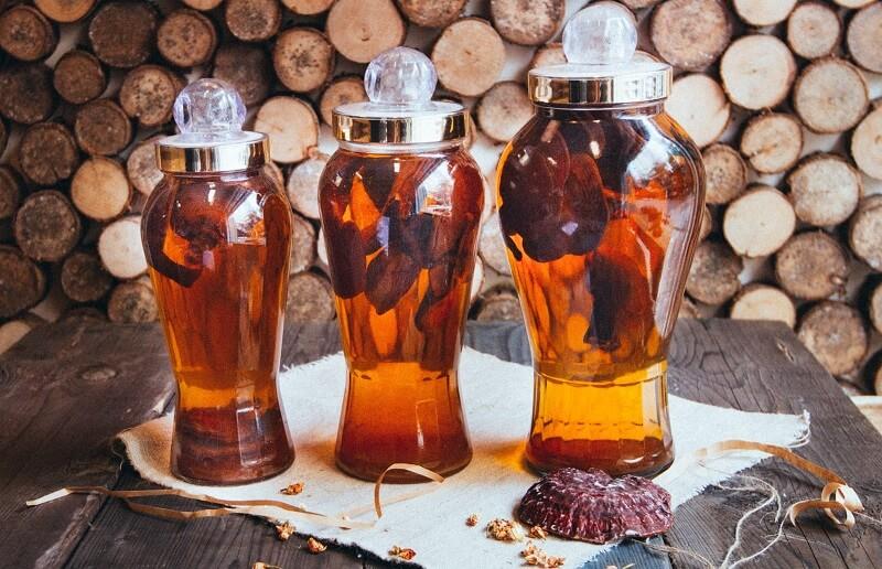 Rượu nấm ngọc cẩu thức uống ngon tăng cường sinh lý cho nam và nữ