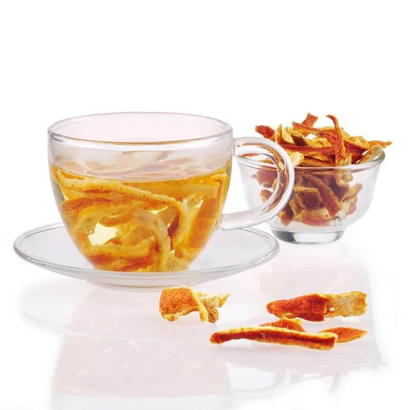 trà trần bì điều trị ho, hen suyễn