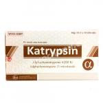 Thuốc katrypsin – Tác dụng kháng viêm và phù nề tốt không