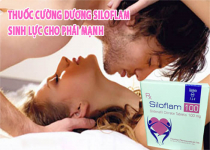 Công dụng, cách dùng của thuốc cương dương siloflam