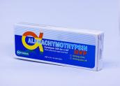 Thuốc Alphachymotrypsin: Công dụng, cách dùng, lưu ý khi sử dụng